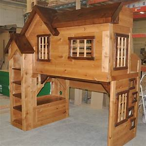 Spanky's Clubhouse Bunk Bed - Custom Designed by Tanglewood