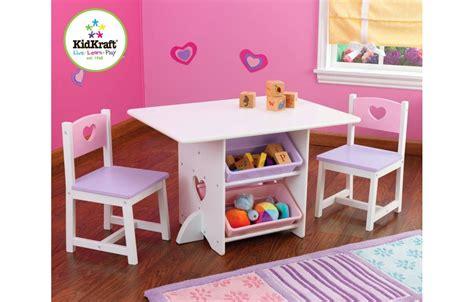 table et chaise pour bébé table et 2 chaises pour fille en bois avec