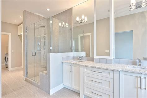 corner showers cascade glass custom mirrors