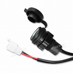 Motorcycle Waterproof 12v Cigarette Lighter Power Outlet