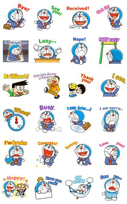 doraemon new year doraemon animated stickers line stickers