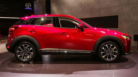 Update Motor Show 2018 : Mazda Cx-3 Gets A Modest Update For 2019