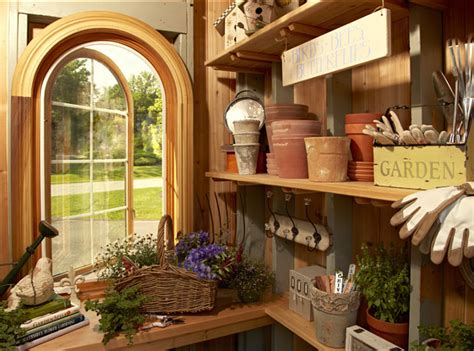 great storage ideas for your garden shed home bunch