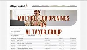 Al Tayer Group Multiple Job Vacancies 2014   Dubai OFW