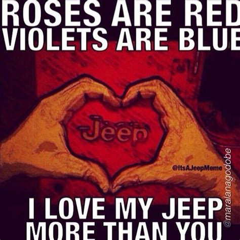 jeep couple meme 36 best images about we love jeeps group board on