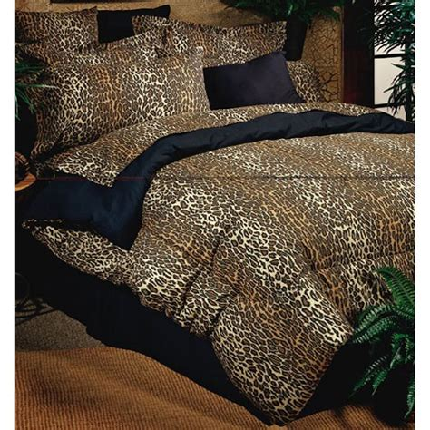 leopard comforter sets by karin maki townhouse linens