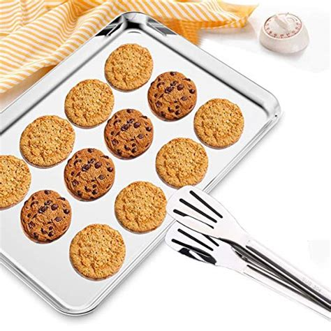 baking pan rack sheet racks cooling stainless steel hkj chef cookie clean toxic duty heavy inch non easy