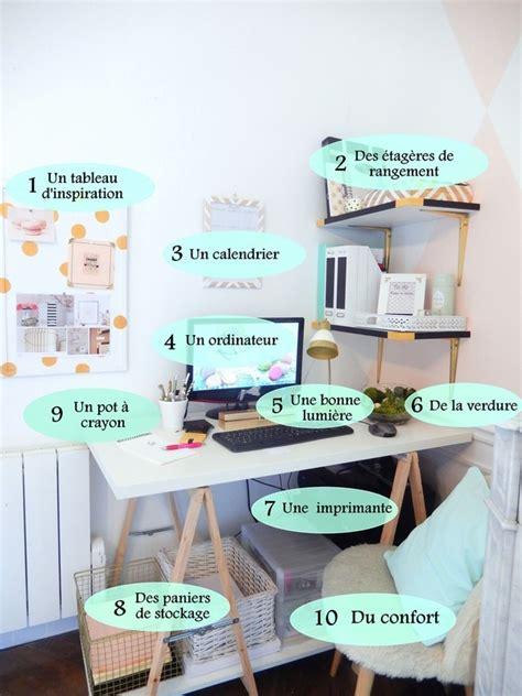 organisation de bureau mes essentiels pour organiser mon bureau mon carnet déco