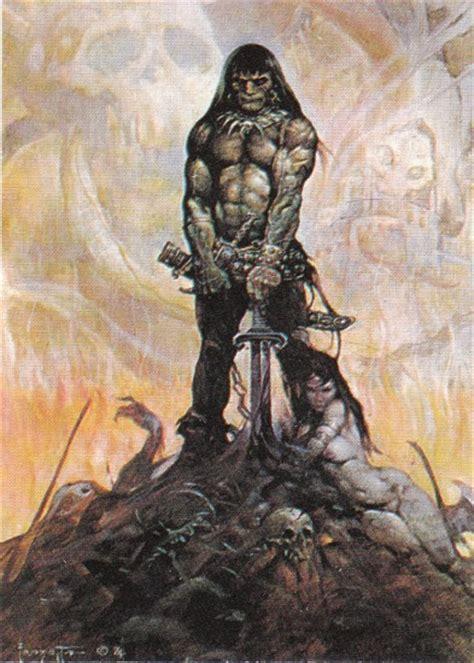 conan  barbarian  born james ford