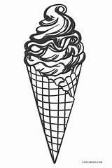 Ice Cream Coloring Pages Printable Cool2bkids Cone Drawing Printing раскраски для рисунки Felt Icecream Sheets Sweets Crafts татуировки печати мороженого sketch template