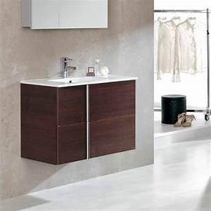 meuble salle de bain 80 cm 2 tiroirs plan vasque With salle de bain design avec plan vasque ceramique