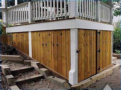 deck storage shed best 25 deck storage ideas on