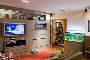 Peceras y acuarios para decorar el hogar