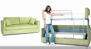 coupe sofa transforms into a bunk bed in seconds With sofa to bunk bed price