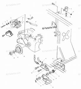 Polaris Atv 2002 Oem Parts Diagram For Rear Brake  Foot Pedal A02ch42aa