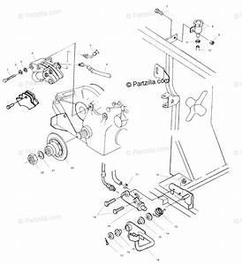 Polaris Atv 2002 Oem Parts Diagram For Rear Brake  Foot