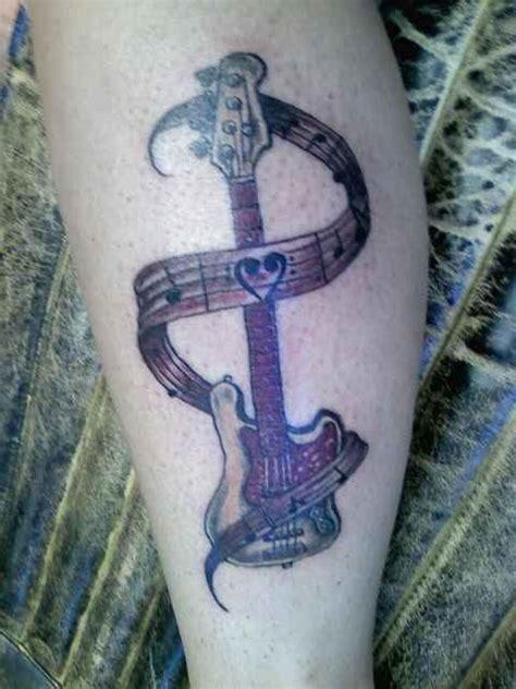 tattoo designs bass guitar tattoos