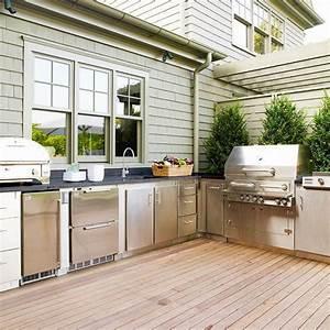 idee amenagement cuisine exterieure fun animals With idee pour amenager son jardin 1 des cuisines dete sur mesure pour votre jardin