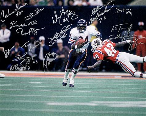 1985 Chicago Bears Super Bowl Champs Autographed 16x20