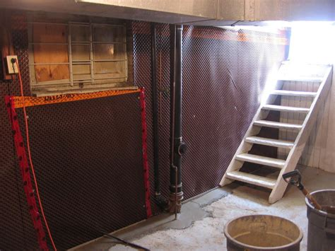 basement waterproofing waterguard drainage systems