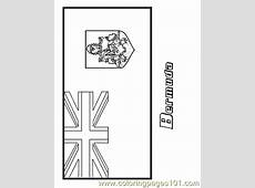 Bermuda Coloring Page Free Flags Coloring Pages