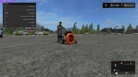 ls made from leaves scag walk behind leaf blower for ls 17 farming simulator
