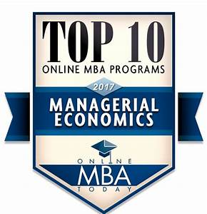 Guide to Online MBAs in Managerial Economics – Online MBA ...