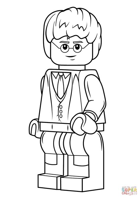 lego harry potter coloring page  printable coloring