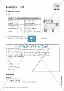 Flächeninhalt Berechnen Parallelogramm : test zu vierecken eigenschaften fl cheninhalt und umfang ~ Themetempest.com Abrechnung
