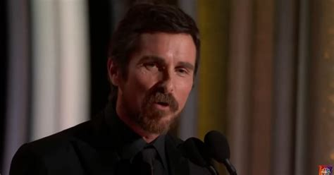 Christian Bale Thanks Satan Golden Globes Liz Cheney