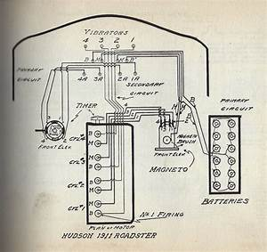 Need Wiring Diagram For A 1909 Open Touring  - Hudson  Essex   U0026 Terraplane