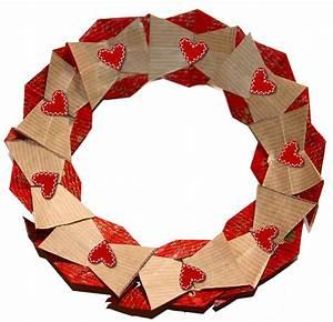 Couronne En Papier à Imprimer : couronne de no l en origami no l sur t te modeler ~ Melissatoandfro.com Idées de Décoration