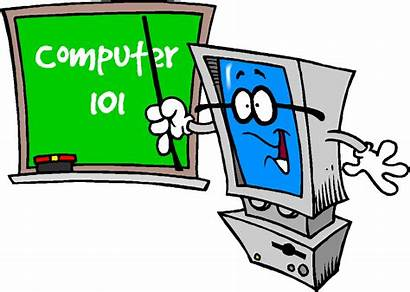 Computer Training Clipart Lab Technology Welcome Animated