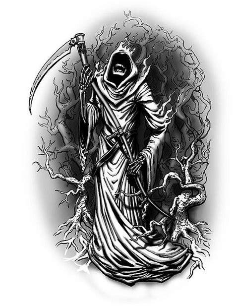 Grim Reaper Tattoo Designs   Grim reaper tattoo, Reaper tattoo, Grim reaper