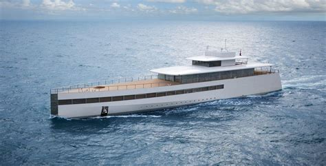rare photo  steve jobs yacht sets  internet  fire