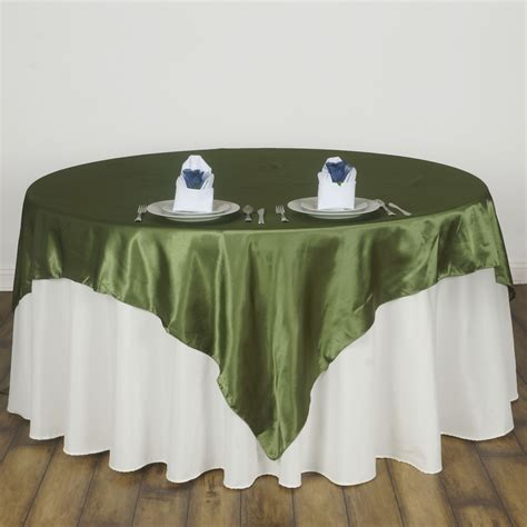 wholesale table linens for weddings 30 pack 72x72 quot square satin table overlays wedding