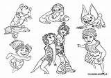 Croods Coloring Pages sketch template