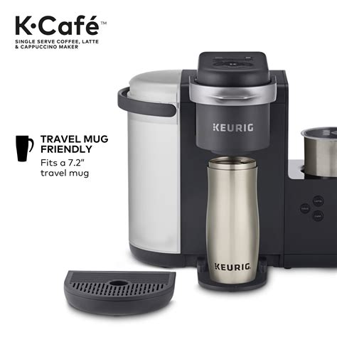 So life without coffee is no life at all. Keurig K-Cafe Coffee Maker, Single Serve K-Cup Pod Coffee ...