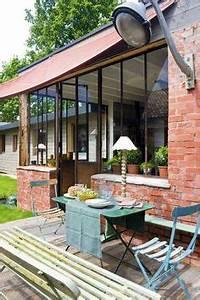 veranda alu a toit plat extension maison pinterest With marvelous extension maison en l 6 une nouvelle cuisine villa veranda
