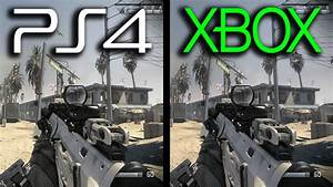 Ghosts: Xbox One vs PS4 Gameplay Comparison (Next Gen ...