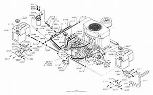 Dixon Ztr 5502  1996  Parts Diagram For Fuel  Hydro Tanks