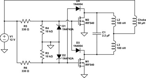 Flyback Simple Induction Heating Circuit Problem
