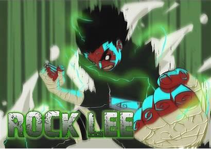 Gates Eight Lee Rock Inner Naruto Guy