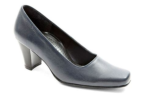 Green Cross Ladies Court Shoes