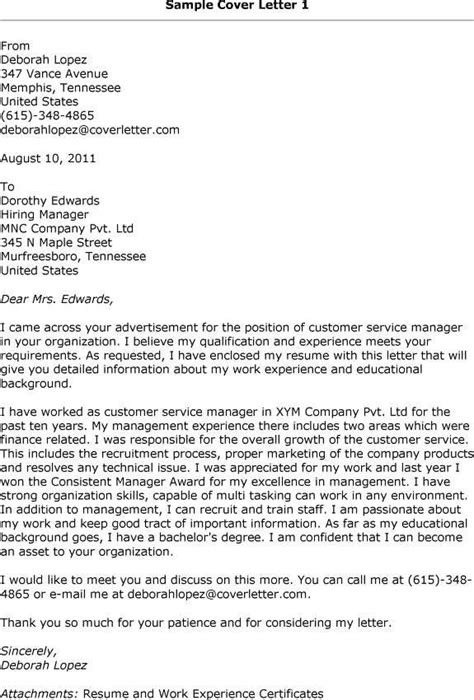 financial service manager cover letter best 25 resume cover letter exles ideas on