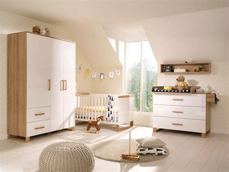 Wellemöbel Benno Babyzimmer Weiß Eiche  Möbel Letz Ihr