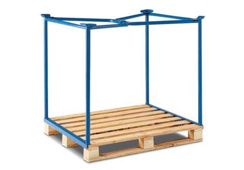 collapsible crate rama do piętrzenia do europalet piętrzenie 3x wys