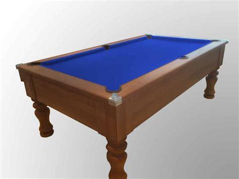 blue felt pool table dark walnut pool table with blue cloth custom snooker