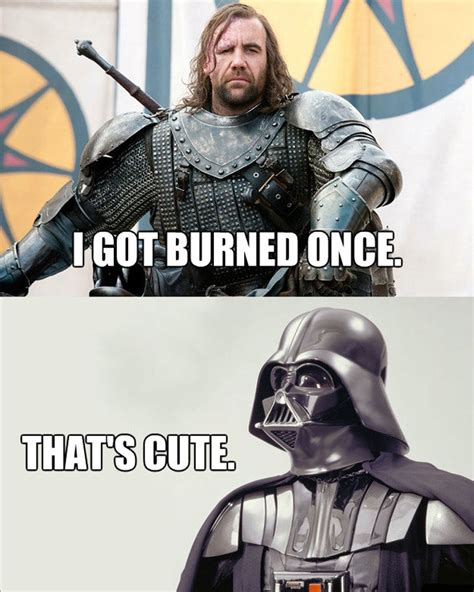 Star Wars Vs Game Of Thrones Meme Throwdown
