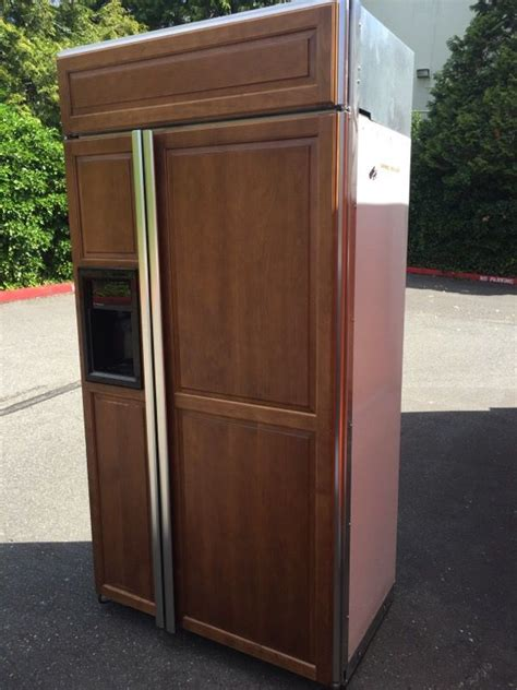 ge monogram built  fridge appliances  monroe wa offerup